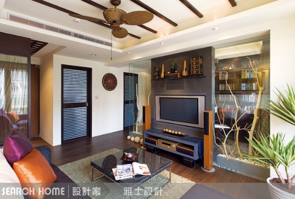 30坪新成屋(5年以下)_休閒風案例圖片_雅士室內設計_雅士_01之4