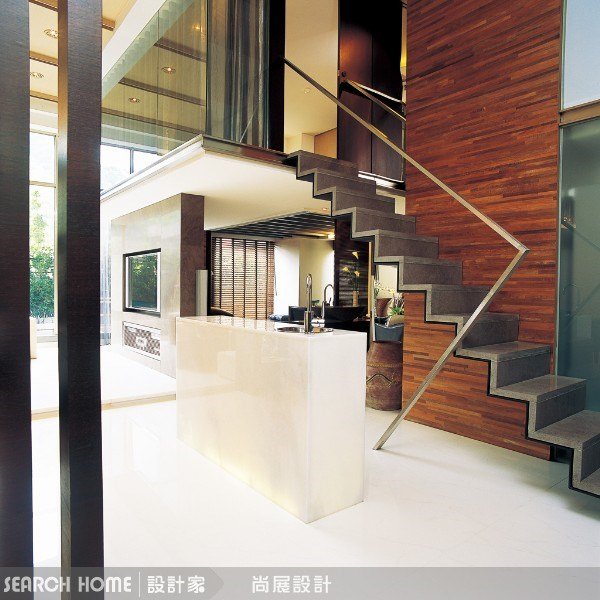 60坪新成屋(5年以下)_新中式風客廳案例圖片_尚展空間設計_尚展_03之3
