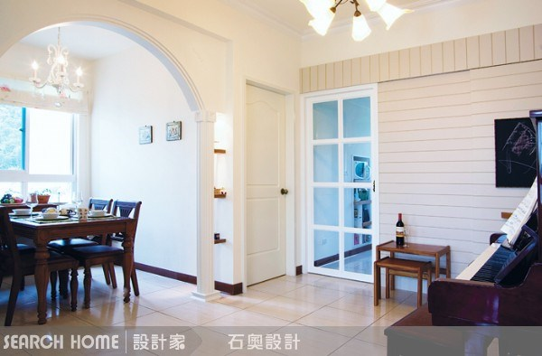 25坪新成屋(5年以下)_鄉村風案例圖片_石奧空間設計_石奧_01之1