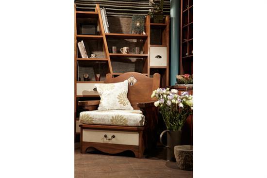 Wood House_【原木工坊 x 客製 單椅】-單椅‧扶手椅