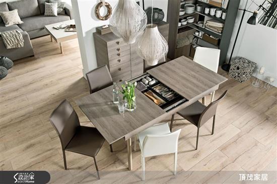 頂茂家居-Lori系列-延展收納餐桌-Lori系列-延展收納餐桌,頂茂家居,餐桌
