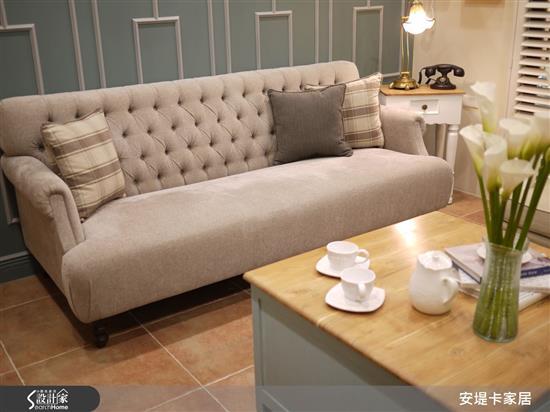 經典法式釘釦手工訂製沙發-雙人.三人沙發