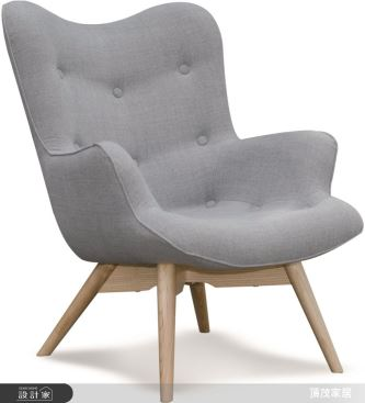頂茂家居-VOX _ GRANT 單人貴妃椅-VOX _ GRANT 單人貴妃椅,頂茂家居,貴妃椅‧腳椅