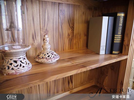 安堤卡家居-亞力山卓經典美式附梯書櫃-亞力山卓經典美式附梯書櫃,安堤卡家居,書櫃