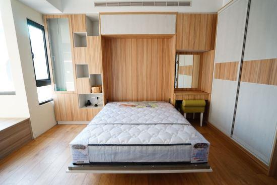臥室-下掀床-摺疊床