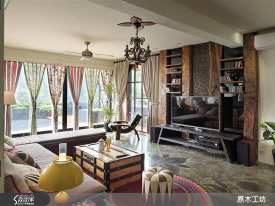 【原木工坊 x 客製 電視櫃 / 款式二】-客廳類家具