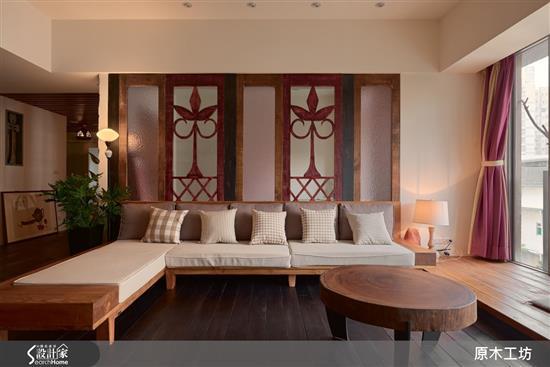 【原木工坊 x 客製化 沙發 / 款式三】-客廳類家具
