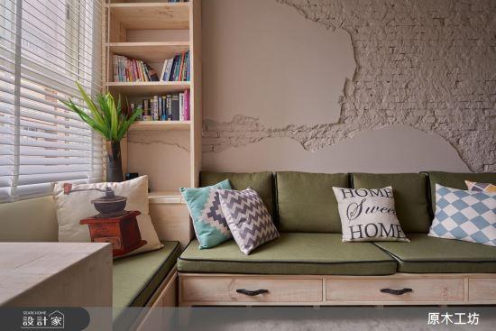 Wood House-【原木工坊 x 客製 沙發 / 款式二】-【原木工坊 x 客製 沙發】,Wood House,客廳類家具,沙發