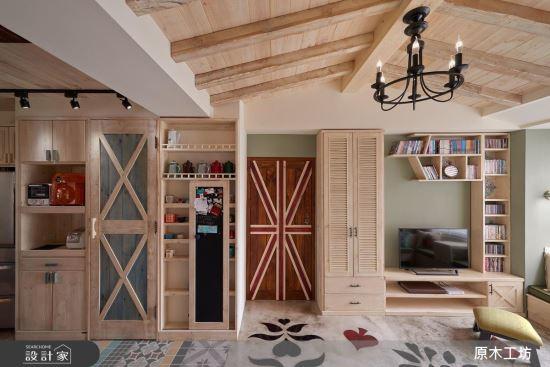 【原木工坊 x 客製 電視櫃 / 款式三 】-客廳類家具