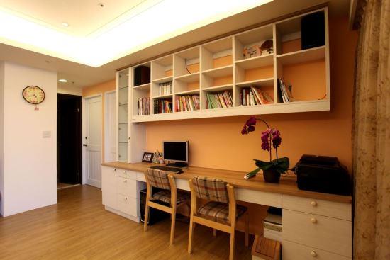 安德康系統室內設計_書房系列-系統書櫃