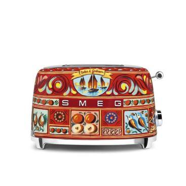 Smeg x D&G 烤麵包機-烘焙料理電器