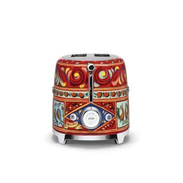 品硯實業有限公司-Smeg x D&G 烤麵包機-Smeg x D&G 烤麵包機,品硯實業有限公司,烘焙料理電器