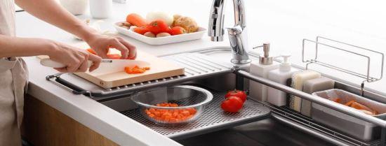 LIXIL-2017日本LIXIL原裝SUNWAVE廚具最新立體收納W不鏽鋼水槽-2017日本LIXIL原裝SUNWAVE廚具最新立體收納W不鏽鋼水槽,LIXIL,水槽