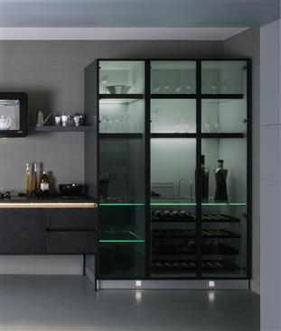 雅登廚飾 oddo-雅登廚飾 D型鋁框高櫃-雅登廚飾 D型鋁框高櫃,雅登廚飾 oddo,櫥櫃