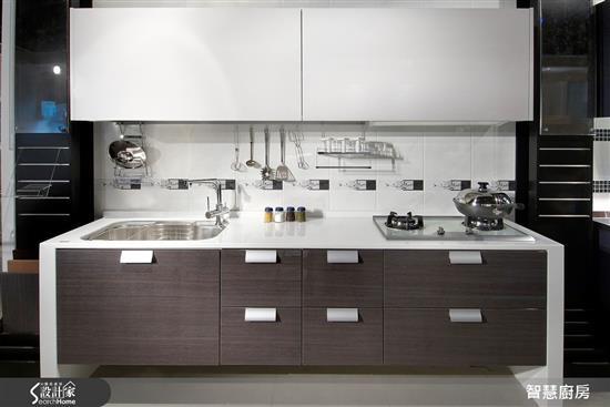 智慧廚房 AIKitchen-木 - 水晶板門板-木 - 水晶板門板,智慧廚房 AIKitchen,廚房門板