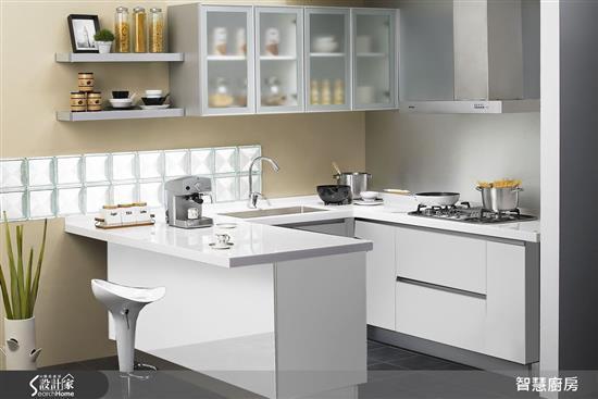 智能淨化 - 滅菌UV鋼烤門板-廚房門板