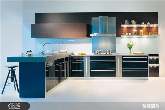 純色 - 玻璃烤漆門板-廚房門板