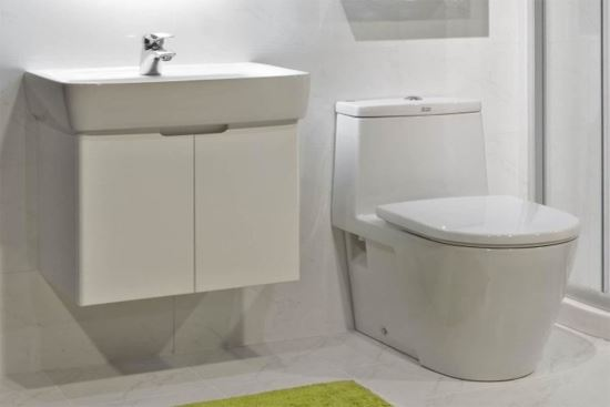 KERAMAG Plan系列 55CM 標準檯面盆櫃-浴櫃