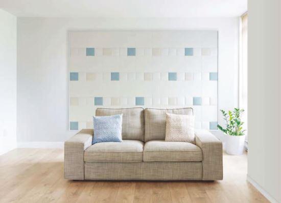 LIXIL-日本INAX  ECOCARAT 健康磚掛畫-拼布方塊  -日本INAX  ECOCARAT 健康磚掛畫-拼布方塊  ,LIXIL/INAX,特殊磚