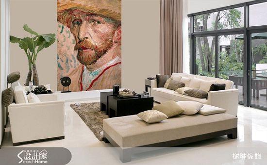 榭琳傢飾有限公司-大幅壁紙系列4-Van-Gogh-Selfportrait-大幅壁紙系列4-Van-Gogh-Selfportrait,榭琳家飾,壁紙