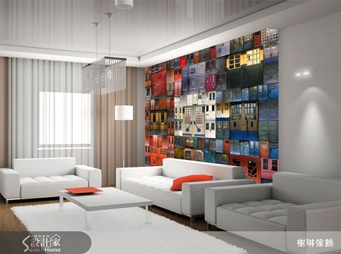 榭琳傢飾有限公司-大幅壁紙系列28-Some-Doors-大幅壁紙系列28-Some-Doors,榭琳家飾,壁紙