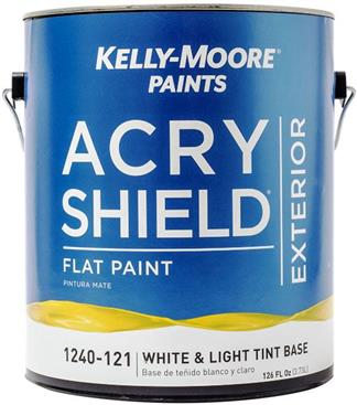 Kelly Moore paints 美國開利塗料-ACRY SHIELD 耐酸鹼室外防雨乳膠漆-