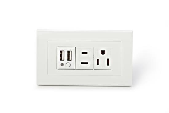舜記貿易股份有限公司-SMP5系列2孔USB+2孔市電插座-SMP5系列2孔USB+2孔市電插座,舜記貿易股份有限公司,插座、開關