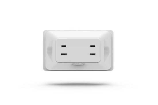 [EzCon]精密電流過載保護雙孔牆壁插座-插座、開關