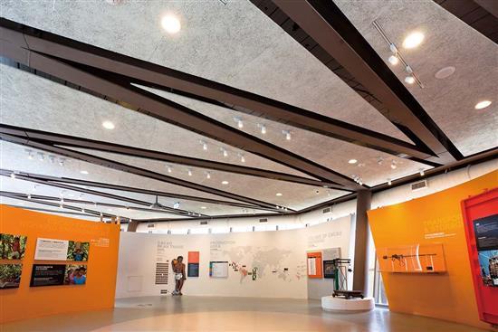 【中菱】鑽泥板-鑽泥板-造型吸音天花板設計-鑽泥板-造型吸音天花板設計,【中菱】鑽泥板,耐燃木絲水泥板