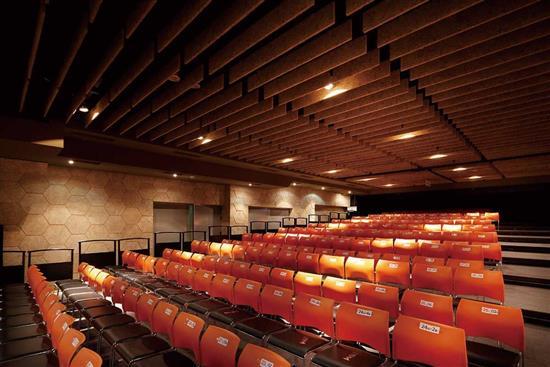 鑽泥板-造型吸音天花板設計-耐燃木絲水泥板