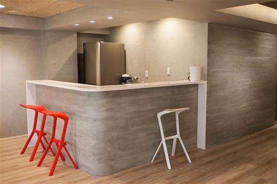 SA工法-後製清水模工法-室內-塗料