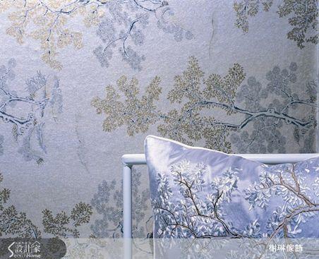 榭琳傢飾有限公司-中國風系列-3藍_銀-中國風系列-3藍_銀,榭琳家飾,家飾布