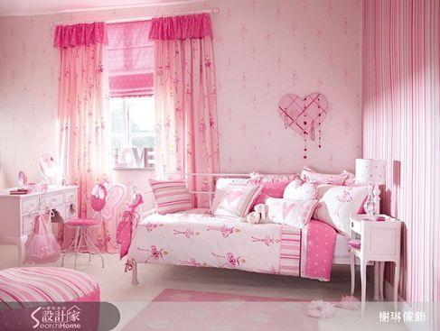 孩房系列2-粉紅-家飾布
