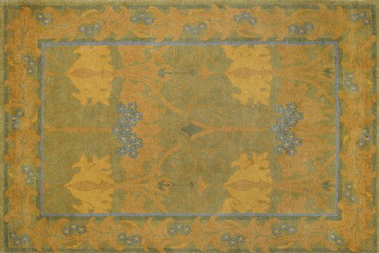 【達森家居】STICKLEY_純手工羊毛地毯 RU-1350-地毯(塊毯)