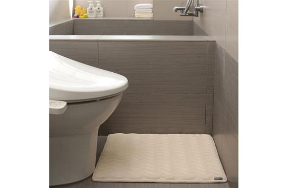 Dimensional Bath Mat 3D波紋記憶綿浴墊 -地墊