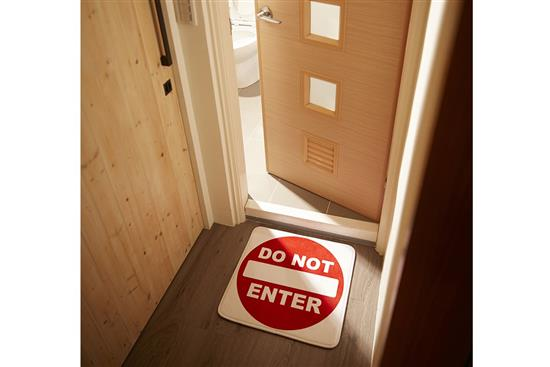 慎康企業-Do Not Enter_趣味記憶綿浴墊 - 請勿進入-Do Not Enter_趣味記憶綿浴墊 - 請勿進入,慎康企業,地墊