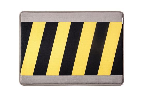 慎康企業-Warning 趣味記憶綿浴墊-施工警示-Warning 趣味記憶綿浴墊-施工警示,慎康企業,地墊