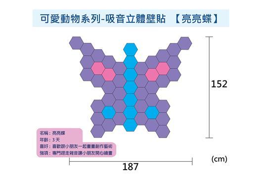 MEXIN美絲 空間聲學產品-Mexin美絲吸音立體壁貼-Mexin美絲吸音立體壁貼,華奕國際實業有限公司,壁貼