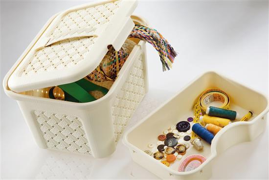 【樂扣樂扣-Tontarelli義特里尼】阿莉安娜收納籃系列-各類收納容器