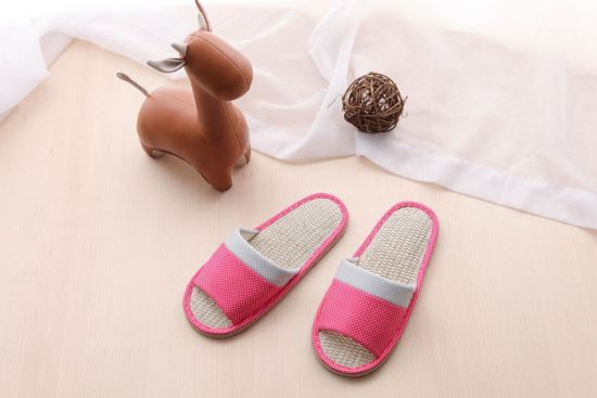 Vero & Nique   維諾妮卡-76017繽紛點點拼接室內蓆拖鞋-76017繽紛點點拼接室內蓆拖鞋,Vero & Nique   維諾妮卡,居家用品
