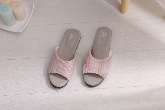 Vero & Nique   維諾妮卡-1206006 冰咖啡紗優雅乳膠室內拖鞋-1206006 冰咖啡紗優雅乳膠室內拖鞋,Vero & Nique   維諾妮卡,居家用品