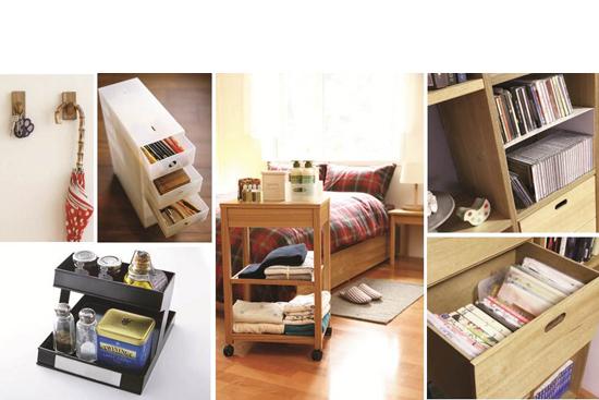高效率生活 收納好方法 整齊居家不雜