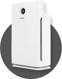 SABA,PM2.5顯示抗敏空氣清淨機