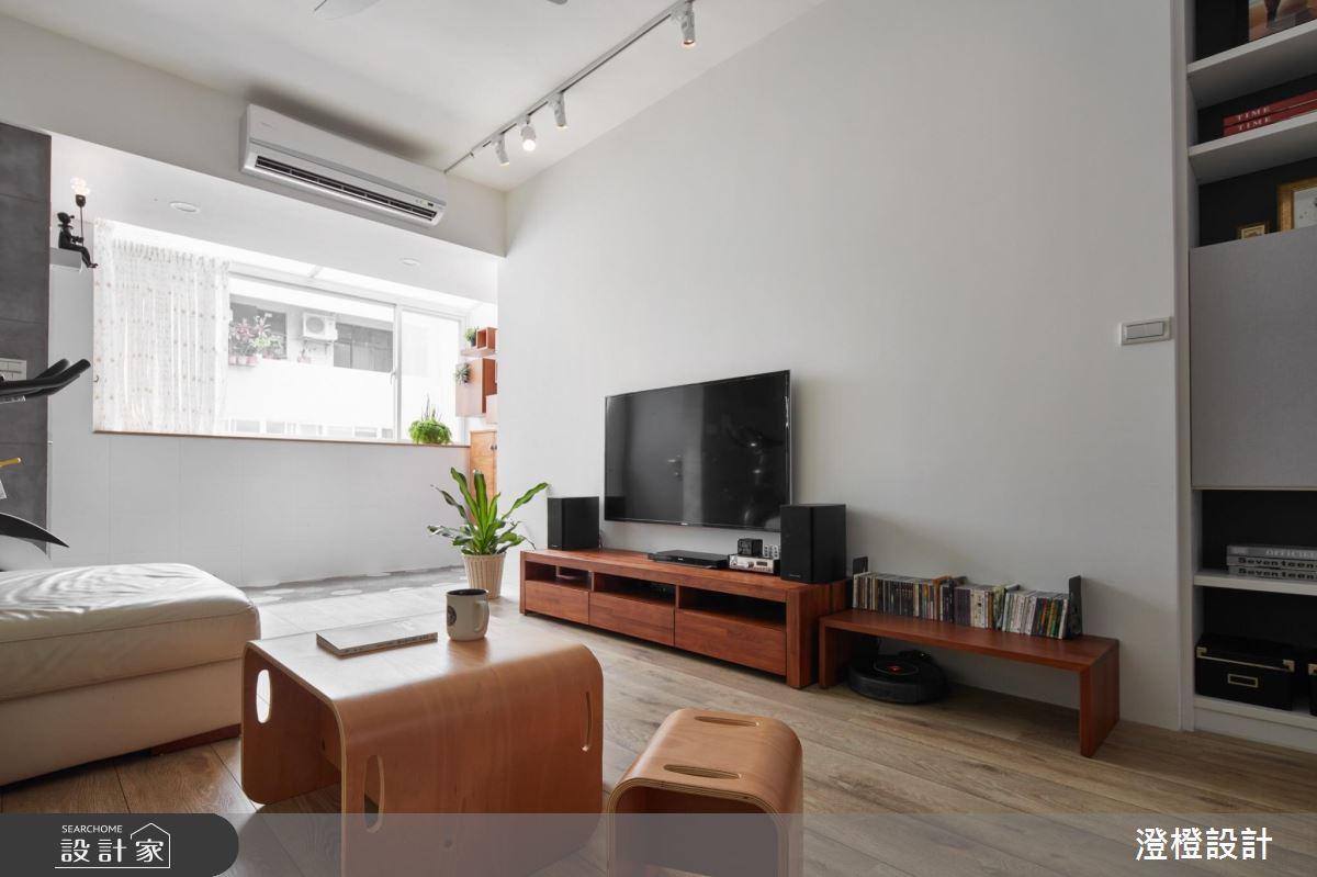 舊物不用丟!28 坪大齡老屋翻新,舊家具也一起簡約換裝!
