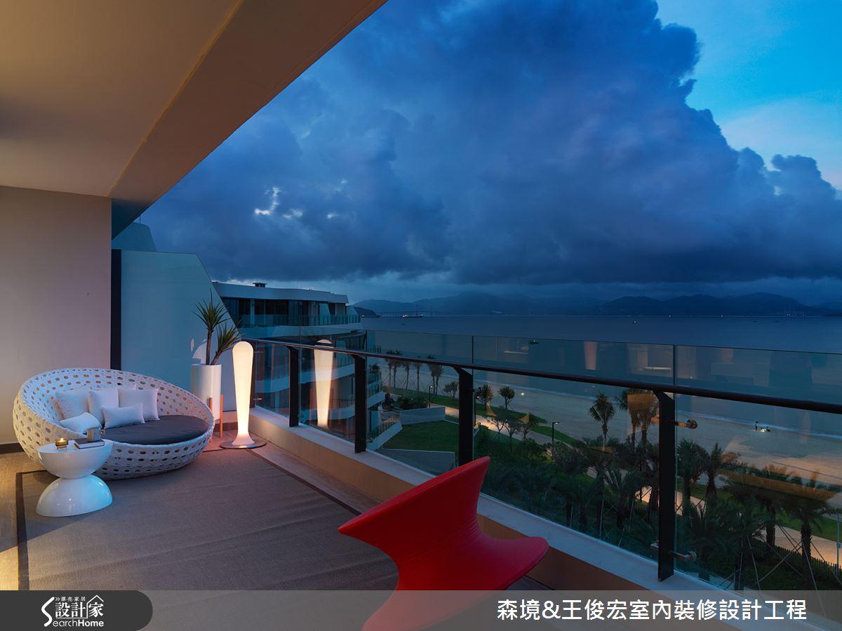 十里銀灘夢幻度假玻璃屋 收藏無際海天麗景